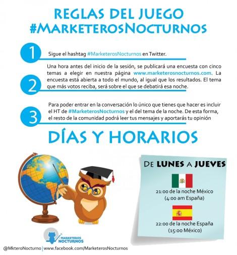 REGLAS-DEL-JUEGO #MarketerosNocturnos