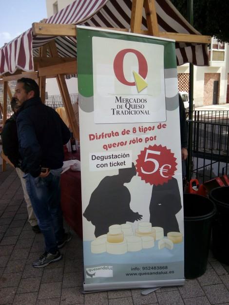 Cartel entrada III  Mercado del Queso Artesanal de Álora