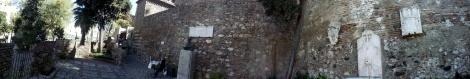 Foto panorámica entrada a La Alcazaba