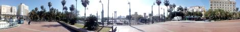 Inicio de la Ruta en la Plaza de la Marina