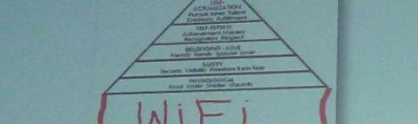 La pirámide de Maslow, un poco retocada